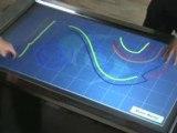 GestureTek's Interactive Multi-Touch Surface ComputingTable