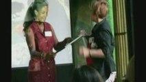 PU Dinner 2009: Lisa Stevens and Check Presentation