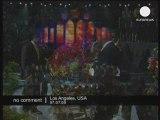 Michael Jackson Funerals in Staples Center L.A