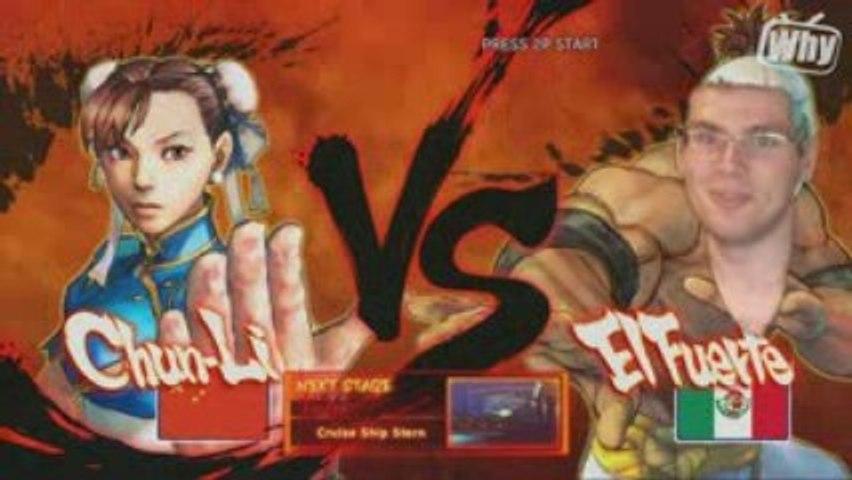 Test HD de Street Fighter 4 sur xbox 360