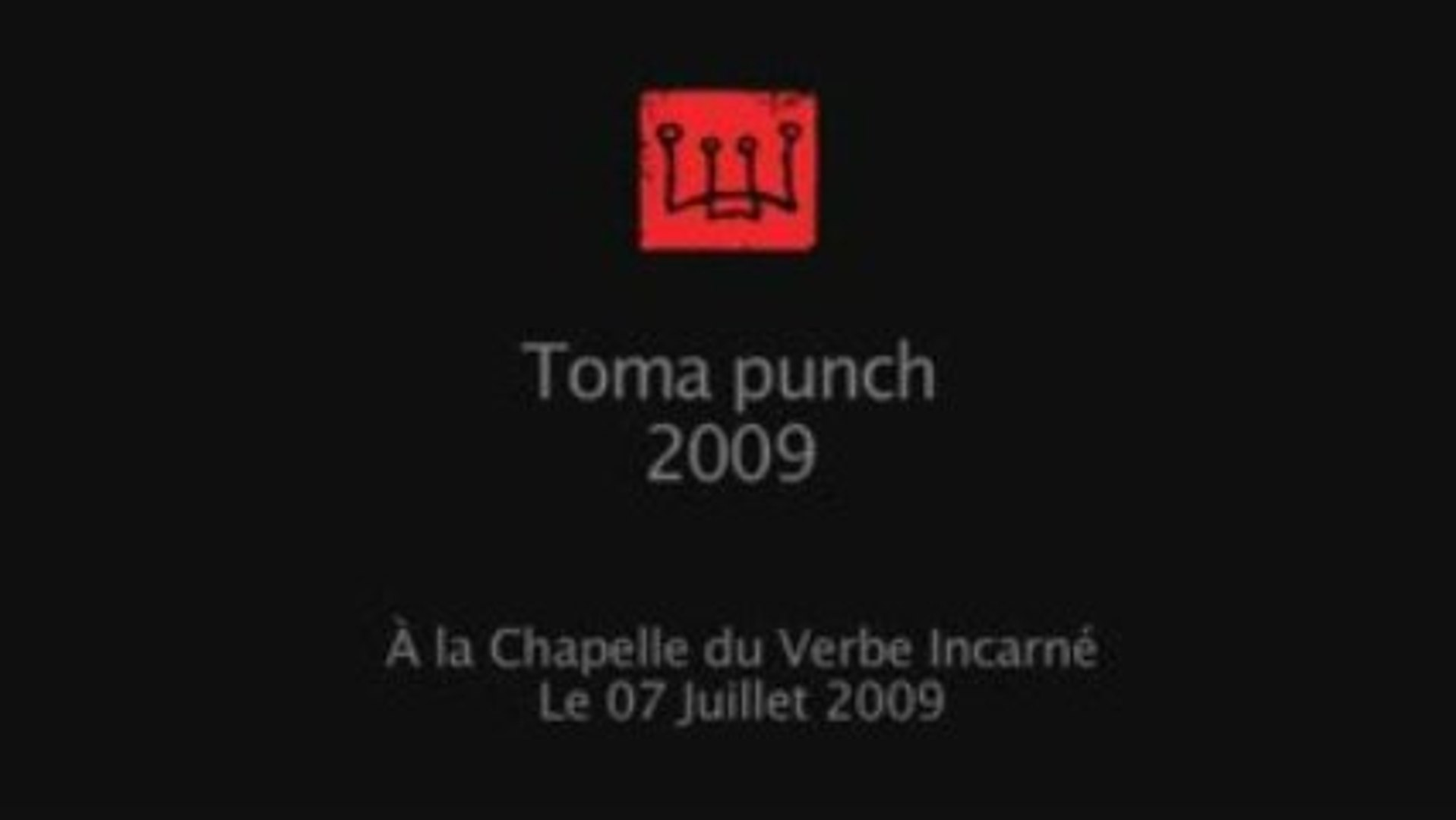 toma punch 2009