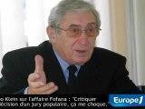 """Théo Klein sur l'affaire Fofana: """"Le jury, c'est mon voisin"""""""
