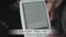 Cybook Opus - ePaper screen