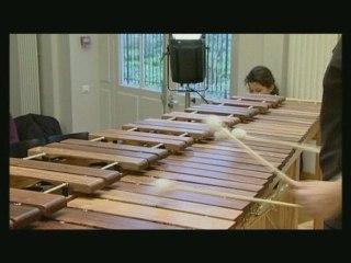 She-e Wu, marimba player, by Richard Bois