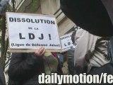 Rassemblement anti LDJ part 2 Librairie Résistances [8/7/09]