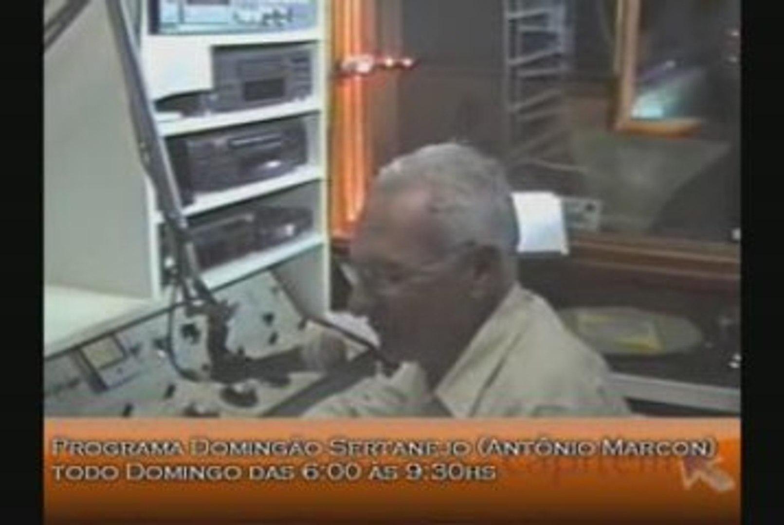 Programa Domingão Sertanejo (Antônio Marcon)