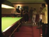 Snooker Coaching Nic Barrow with The Snooker Forum Stance 8