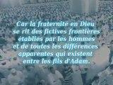 Les musulmans sont tel un édifice
