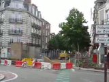Nantes : travaux rue Louis Blanc