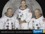 "Buzz Aldrin : la lune, ""une aventure extraordinanire"""