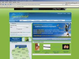 Webhosting.pl -Screencast -Jak odblokowac strone internetowa