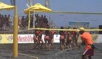 Set Point - Cheerleaders @ perivolos Santorini Beach Volley