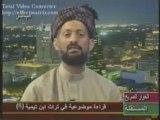 Sheykh al-bouti ni le tajsim concerant Sheykh Ibn Taymya