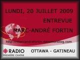 090720- Radio-Canada Première Chaine-Ottawa-Gatineau-Blog