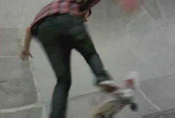 summer skateboarding session