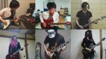 canon rock japaneses guitaristes