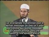 Zakir Naik-Islam existe avant que christianisme et judaisme