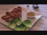 Briouates aux crevettes & au tarama (Recette de Monica)