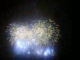 feu d'artifice de carcassonne 2009