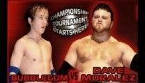 British wrestling Borxbourne Civic Hall New Frontiers 09