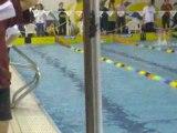 EVREUX AC Natation : Clémence au 100m dos