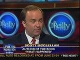 Bill O'Reilly Factor Scott McClellan interview part 1