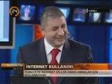Atif Unaldi @ Haber24 TV - Internet 15. yasini kutluyor 2/2