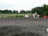 Agathe et Rita en saut ptit parcours