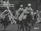 DEMONSTRATION PAR LES SPAHIS MAROCAINS A GRONINGEN HOLLANDE