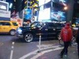 Crunk de Time Square! c'est juste chaud mec...