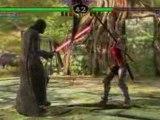 Soulcalibur IV PS3 Gameplay Darth Vader ( Dark Vador )