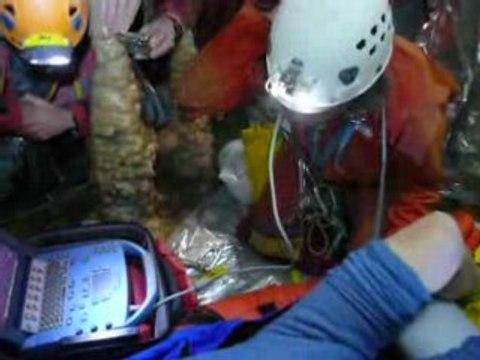 Echographie en milieu souterrain - SSSI