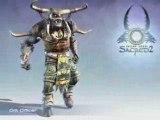 Sacred 2 Animation Ork Officer
