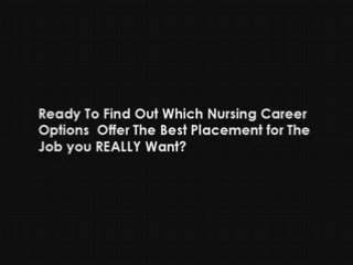Nursing Career Information. Nursing Careers & Job Tips