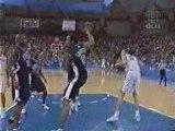 USA Basketball - Vince Carter dunks on big guy