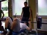 musculation kléber ( régis 7 fois 100 kilos )