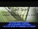 Coran récité par un enfant machallah