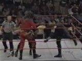 Steve Austin & The Rock vs Taker & Kane