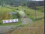 crashes, accidents -scary moments of rally racing