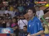 2008 Badminton Thomas Cup Final MS1 game 2 2/2