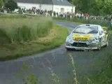 Bengué Peugeot 307 WRC rallye Limousin 2008