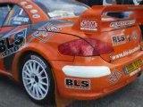 Beaubelique Peugeot 307 WRC Rallye Limousin 2008 Start ES 1