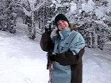 Ma cherie au ski