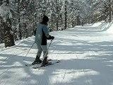 Ma chérie au ski (3)