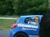 Combot Renault Clio R3 rallye limousin 2008