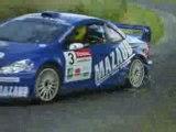 Jérome Grosset Janin Peugeot 307 WRC Rallye Limousin 2008