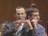 2 hommes et 1 flute traversiere