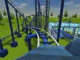 "RCT3  ""Flash-back coaster""  (Floride)"