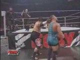 RVD vs Vince and Shane McMahon and Umaga