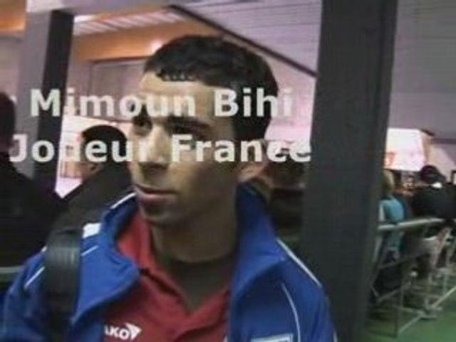 Eurofutsal 2008 : Commentaires Belgique France